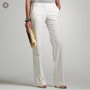 J Crew Pale Yellow City Fit Chino Pants